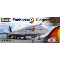 Revell R01111 Boeing 747-8 Fanhansa Siegerflier 1/144