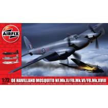 Airfix De Havilland Mosquito NF.Mk.II/FB.Mk.VI/FB.Mk.XVIII 03019