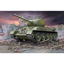 Revell 1/72 Soviet T-34/85 Model Kit 03302