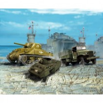 Revell 1/144 US Army Vehicles WWII 03350