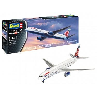 REVELL BOEING 767-300ER BRITISH AIRWAYS 03862