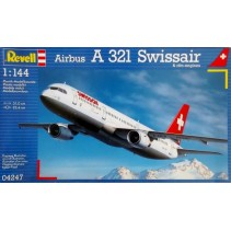 Revell Airbus A321 Swissair 1/144 04247
