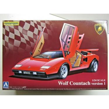 Aoshima Wolf Countach V1 1/24 04960