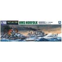 AOSHIMA 1/700 B/H/C HMS NORFOLK 056691