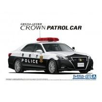 AOSHIMA 1/24 TOYOTA GRS214 CROWN PATROL CAR 05752