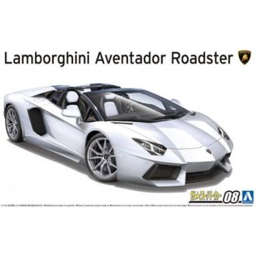 AOSHIMA 1/24 LAMBORGHINI 12 AVENTADOR ROADSTER 05866