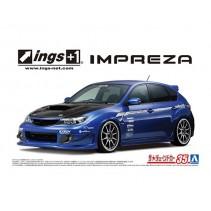 AOSHIMA 1/24 INGS GRB IMPREZA WRX STI 07 05875