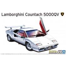 AOSHIMA LAMBORGHINI 1/24 '85 COUNTACH 5000QV 05945