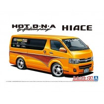 AOSHIMA 1/24 HIACE TRH200V HOT D.N.A BY HOTCOMPANY 05948