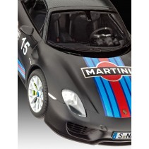 Revell Porsche 918 Spyder with Weissach package (Martini Racing Design) 07027