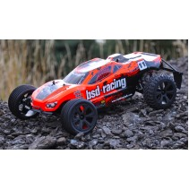 BSD Racing Prime Storm V3 V2 Retro Colour Scheme Truggy 1/10 RTR 1-BS711T