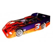 Parma 10138 Oval Outlaw 1/10 Clear Oval Body 200mm