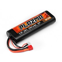 HPI Plazma 7.4v 3000mah 20c Lipo Round Case Stick Pack 29.6wh Battery 101940