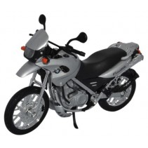 BMW F650 GS Motorcycle 1:18 Diecast
