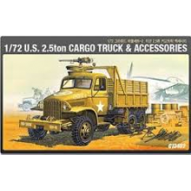U.S. 2.5 Ton Cargo Truck & Accessories 1/72 Ground Vehicle Series-2