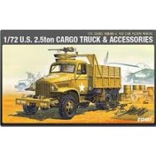 U.S. 2.5 Ton Cargo Truck & Accessories 1/72 Ground Vehicle Series-2
