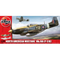 Airfix North American P-51 K/RF Mustang 1:24 14003A