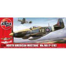 Airfix North American P-51 K/RF Mustang 1:24 14003A