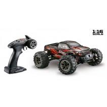 1/16 SPIRIT RTR BLACK/RED 4WD ABSIMA 16001 MONSTER TRUCK