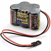 Ansmann Racing RX 6,0V 1600mAh Hump Pack  Battery (JR Connector)