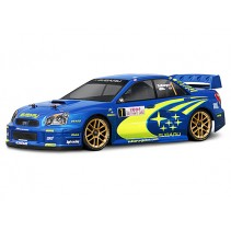 17505 - SUBARU IMPREZA WRC 2004 MONTE CARLO RALLY EDITION BODY SHELL(200MM/WB25