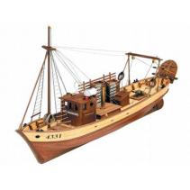Mare Nostrum Spanish Trawler Wooden Ship 1/35