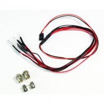 Absima LED set white/red with aluminium holder 2320041