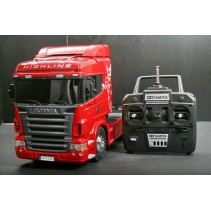 Tamiya 23670 Scania R620 Highline 6x4 RED Operational Finished Ltd Edition Truck