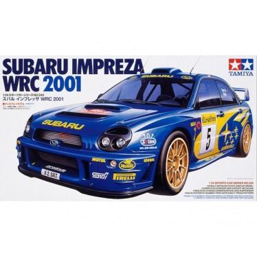 TAMIYA 1/24 SUBARU IMPREZA WRC 2001 24240