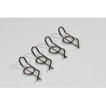 """Body Clips """"Security"""" Small (4)"""