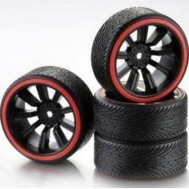 Absima Wheel Set Drift 9 Spoke Profile B (4) BR 1/10 2510048