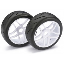 "Wheels set buggy "" Street"" white 1:8 ( 2)"