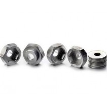 Absima 2540020 Wheel Adapter Set 12mm to 17mm (4)