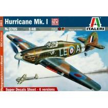 Italeri 2705 Hurricane Mk.I 1/48