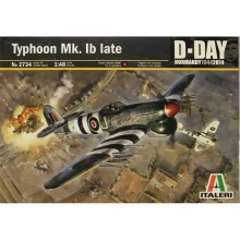 Italeri 2734 RAF Hawker Typhoon Mk1b D-Day 1/48