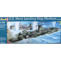 Revell R05123 U.S. Navy Landing Ship Medium (early) 1/144