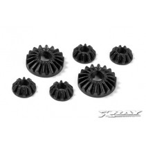 XRay XR304930 Composite Gear Diff Bevel & Satellite Gears (2+4)
