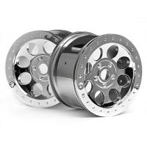 HPI MAG-8 Wheel Chrome (83x56mm(2)) 3187
