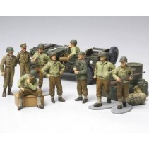 Tamiya 32552 WWII U.S. Army Infantry at Rest 1/48