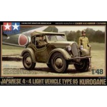 Japanese 4x4 Light Vehicle Type 95 Kurogane1:48