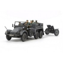 Tamiya 32580 German 6x4 Towing Truck Kfz.69 with 3.7cm Pak 1/48