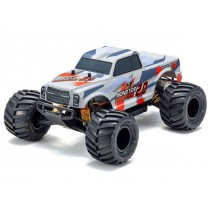 Kyosho Monster Tracker 2.0 1:10 EP Readyset - Red K.34404T2B