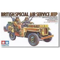 British Special Air Service (SAS) Jeep 1/35
