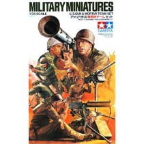 Tamiya 35086 U.S Gun and Mortar Team 1/35