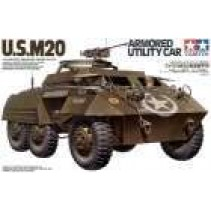 Tamiya 35234 U.S.M20 Armored Utility Car Scale 1:35