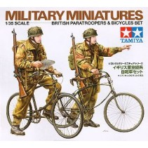 Tamiya 35333 British Paratroopers & Bicycles Set 1/35