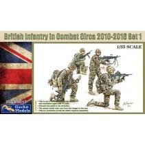 GECKO MODELS BRITISH INFANTRY SET 1 35GM0015