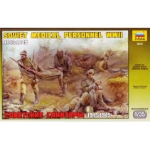 Zvezda Z3618 Soviet Medical Personnel WWII 1/35