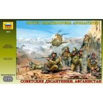 Zvezda Z3619 Soviet Paratroopers Afghanistan 1/35