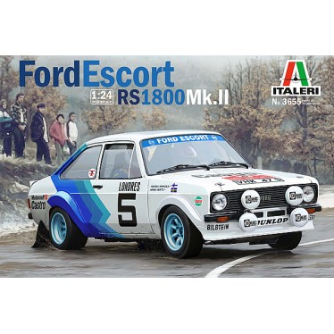 Italeri 3655 Ford Escort MkII 1/24